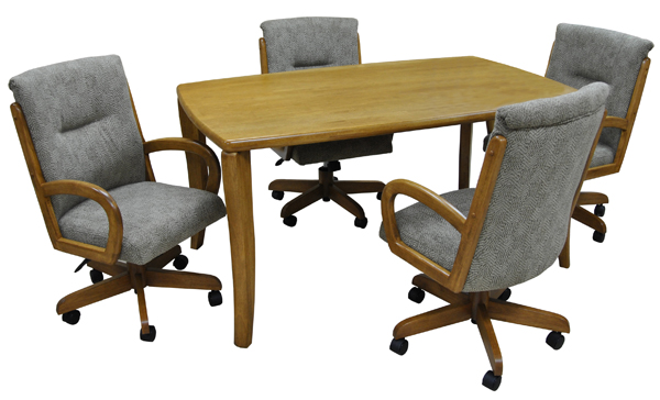 265casterChairs_36x60woodTable.jpg