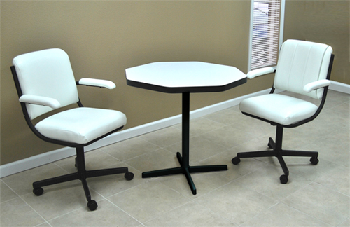 Small Dinette 202 24x36 Round Corner Laminate Table $699.00,  2chair08_smallOct_dinette