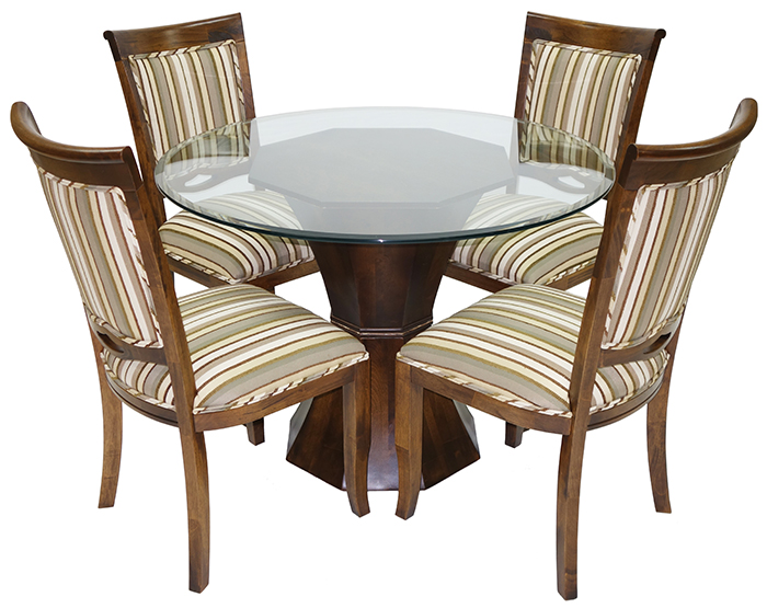 Glass Dinette Sets: Metal, Round Glass Table Tops, Dinettes, Glass ...