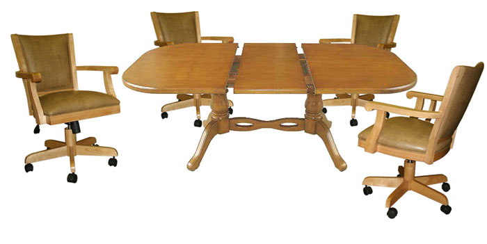 42x60 Table Mango Full Back Chairs USA Dinettes