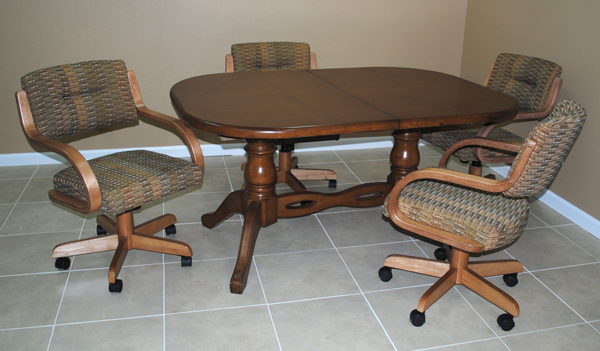 42 x 60 x 78 dinette 270 caster chairs usa dinettes