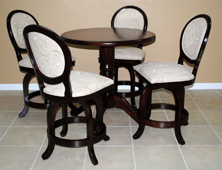 5 Piece Pub Set 500 Stools