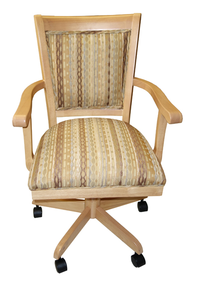 Dining & Kitchen Chairs With Or Without Casters