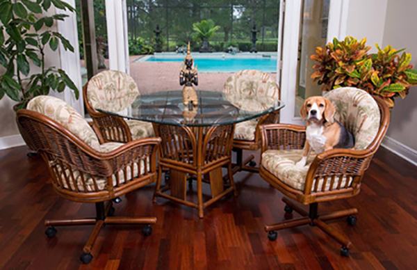 Rattan Dinette Rattan Tables Wicker Tables Amp Chairs
