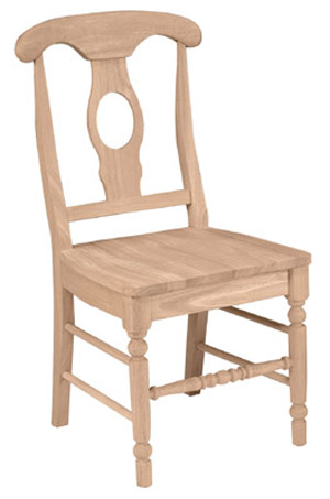 Empire Chair Wood Seat