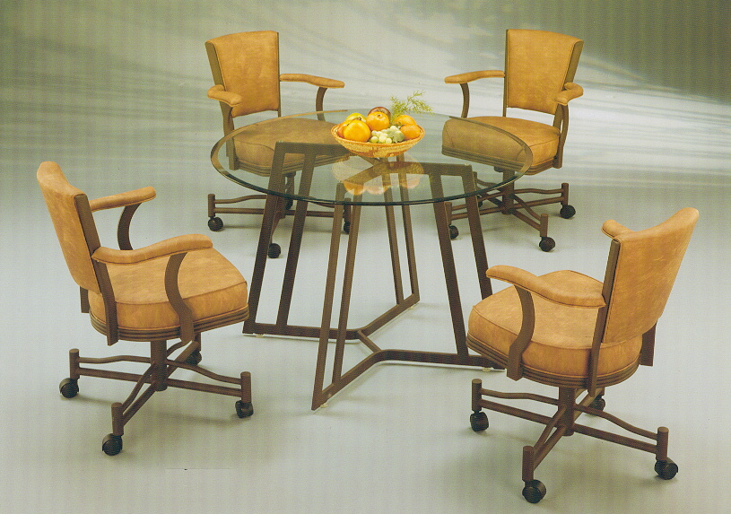 sets glass kitchen tables dinettes wood dining room table sets