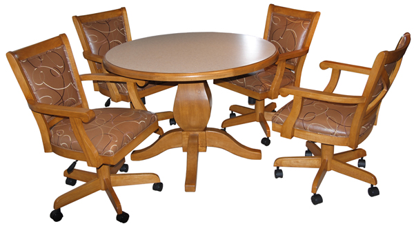 Dining Table Dining Table Chairs Rollers