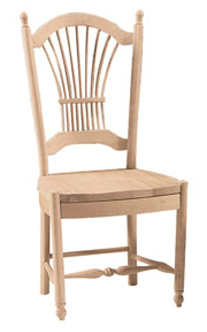 Sheaf Back Chair Wood Seat
