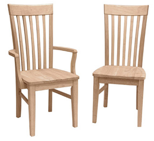 Tallmissionchair Armchair Wood Jpg Tall Mission Chair With Or Without Arms Seat Unfinished Finished