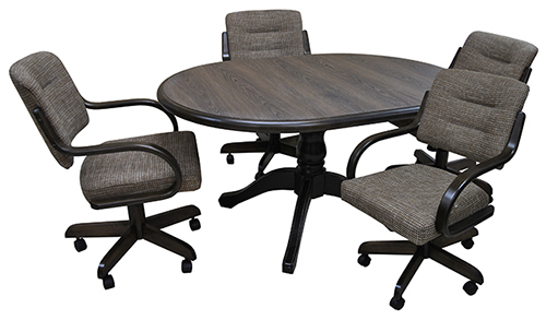 Kitchen Table Sets With Caster Chairs dinettes: dining room furniture, tables & matching chair sets